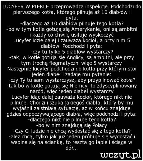 Polska mentalność...