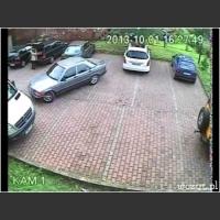 Wyjazd z parkingu poziom