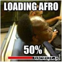 Loading afro