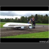 Zdalnie sterowany Airbus A380