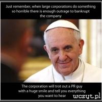 Papież Franciszek...