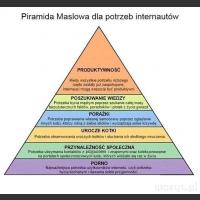 Piramida Maslowa dla potrzeb