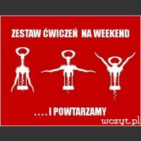 Zestaw ćwiczeń na weekend