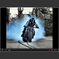 Drifting motocyklem po