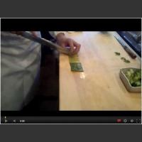 Szef Sushi demonstruje