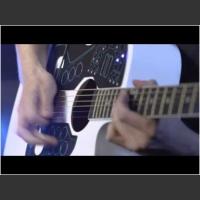 Połączenie kontrolera midi z gitarą akustyczną